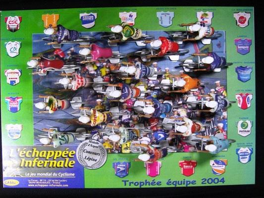 Peloton Année 2004 Jeu L'Echappée Infernale