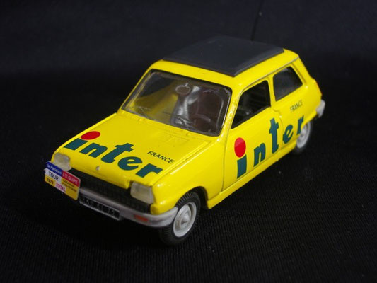 Renault 5  Radio FRANCE INTER                                   Tour de France 1979