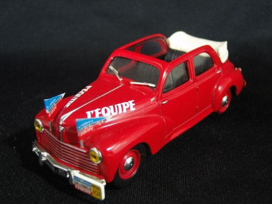 Peugeot 203 cabriolet L'EQUIPE                                     Tour de France 1949