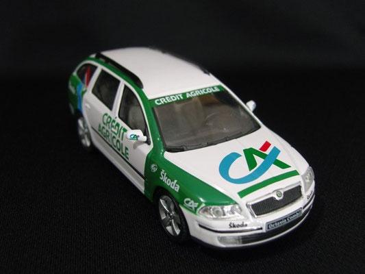 Skoda Octavia Equipe CREDIT AGRICOLE                      Tour de France 2006