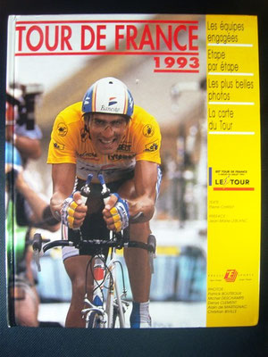 Livre officiel Tour de France 1993