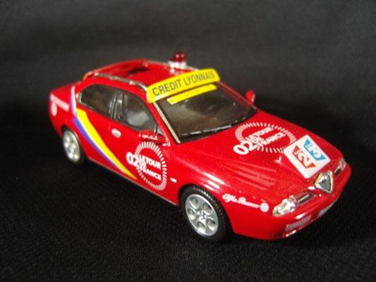 Alfa Roméo 166 Directeur de course   Tour de France 2002