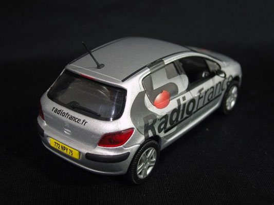 Peugeot 307 radio RADIO FRANCE                                         Tour de France