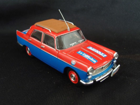 Peugeot 404 Officiel                                                        Tour de France 1962