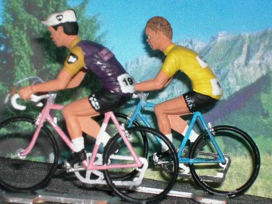 Duel Jacques ANQUETIL - Raymond POULIDOR  Puy de Dôme Tour de France  1964