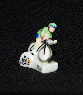 Fève Tour de France  Série 2014  Cycliste Tour 2013