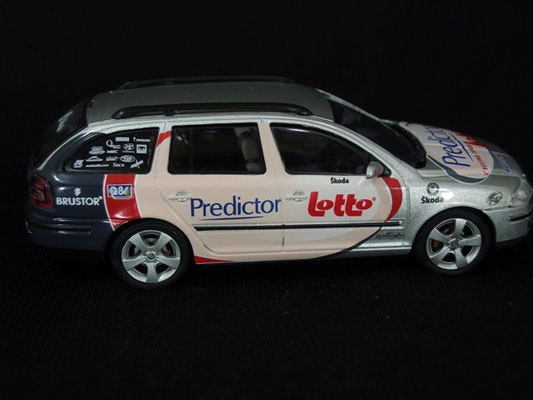 Skoda Octavia Equipe PREDICTOR LOTTO                       Tour de France 2006