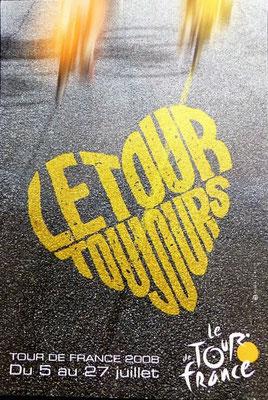 Affiche Tour de France 2008