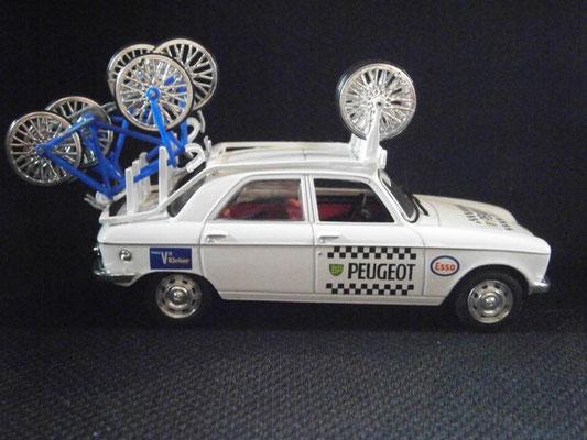PEUGEOT 204 Equipe PEUGEOT  Tour de France 1970