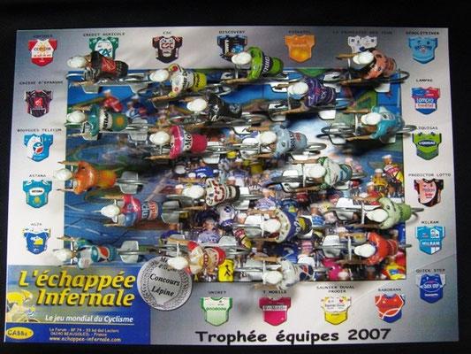 Peloton Année 2007 Jeu L'Echappée Infernale