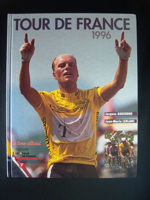 Livre officiel Tour de France 1996