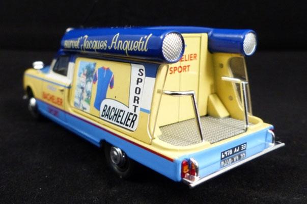 Peugeot 403 U8 BACHELIER SPORT   Caravane Tour de France 1968