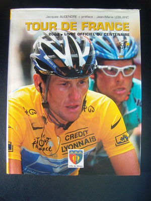 Livre officiel Tour de France 2003