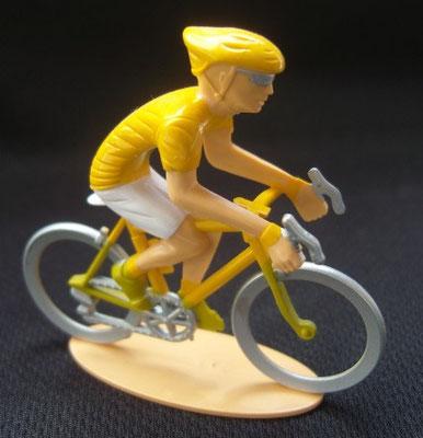 Cycliste maillot jaune Leader Echappée infernale 2010
