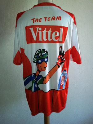 "Tee-shirt  "" The Team VITTEL "" Tour de France 2013 -- Dos"