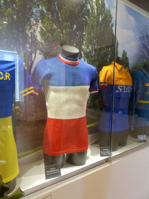 Maillot Champion de France amateur et professionnel
