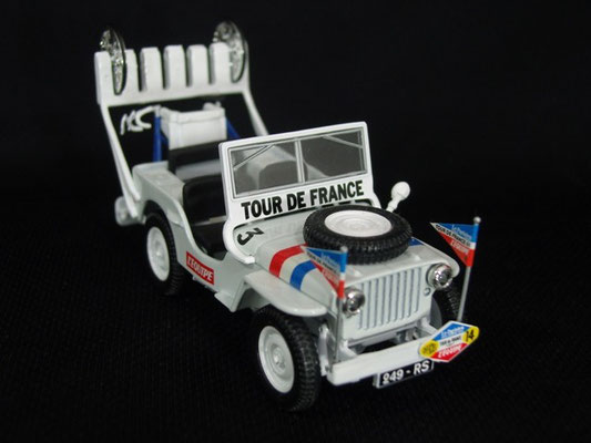 Jeep Willys Equipe de France                                         Tour de France 1951