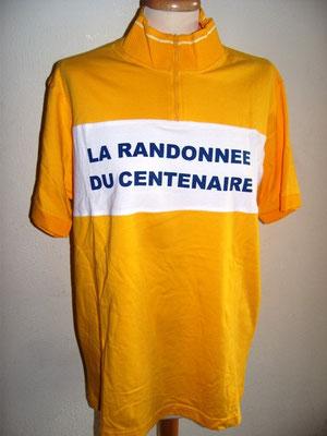 Maillot jaune  La randonnée du Centenaire 2003
