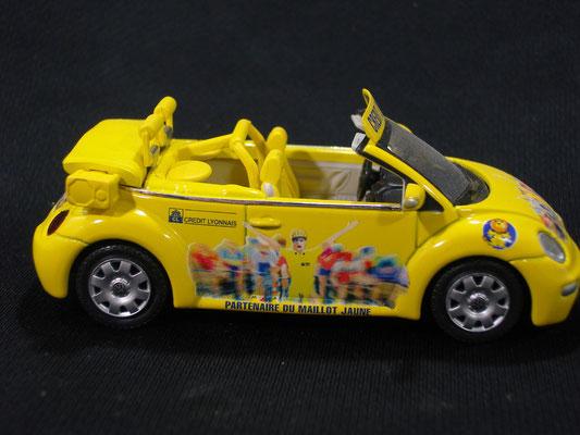 Volkswagen New Beetle Crédit Lyonnais    Caravane Tour de France 2003
