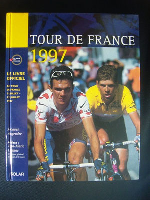 Livre officiel Tour de France 1997