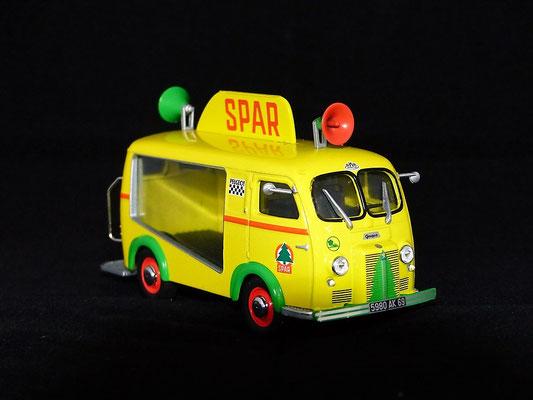 Peugeot D3A  SPAR     Caravane Tour de France 1959