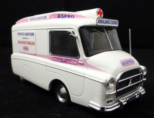 Citroën HY ASPRO   Caravane Tour de France 1955