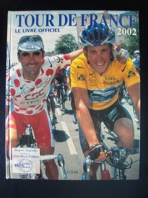 Livre officiel Tour de France 2002