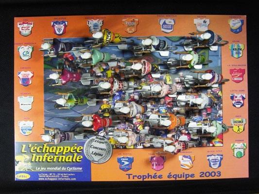 Peloton Année 2003 Jeu L'Echappée Infernale