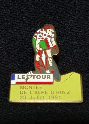 23 Juillet 1991 Montée de l'Alpe d'Huez
