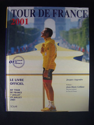 Livre officiel Tour de France 2001