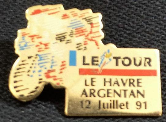 12 juillet 1991  Le Havre - Argentan