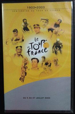 Cassette vidéo Le Tour de France 1903-2003 Historique