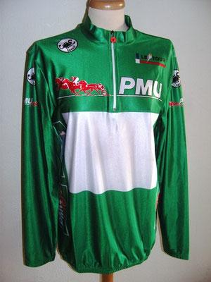 Maillot vert PMU Tour de France 1993 Djamolidine ABDOUJAPAROV