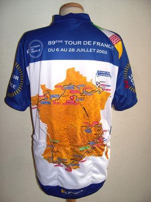 Maillot commémoratif Tour de France 2002
