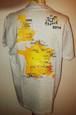 Tee-shirt Tour de France 2014 (dos)