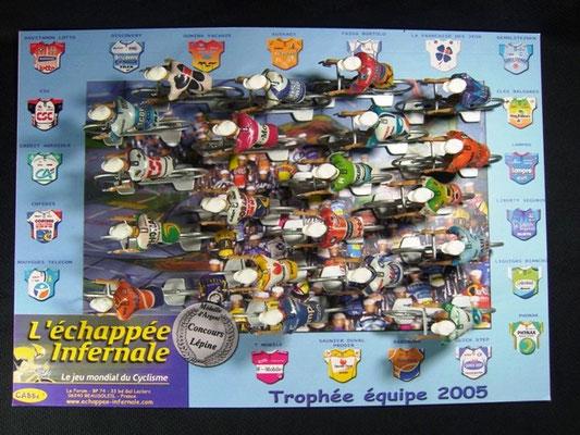 Peloton Année 2005 Jeu L'Echappée Infernale