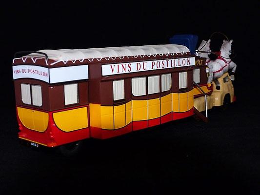 Berliet TLB19 VINS DU POSTILLON     Caravane Tour de France 1954