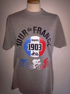 Tee-shirt Tour de France 2013 - 100e Edition -  Devant