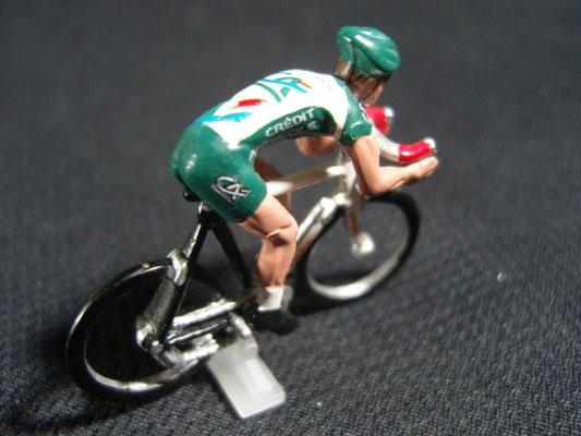 3 cyclistes Equipe Crédit Agricole