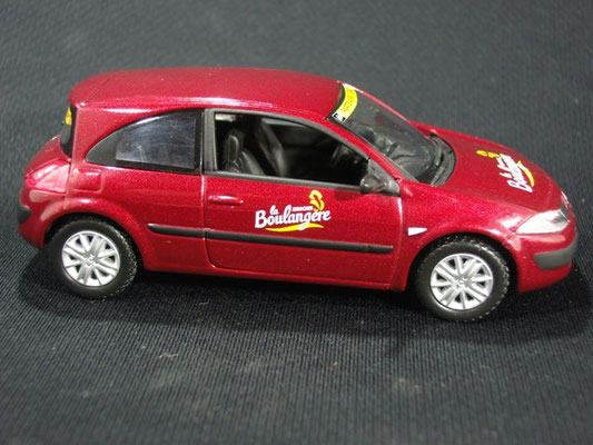 Renault Mégane Brioches La Boulangère     Caravane Tour de France 2003