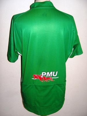 Maillot vert PMU Tour de France 2001    Erik ZABEL