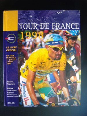 Livre officiel Tour de France 1998