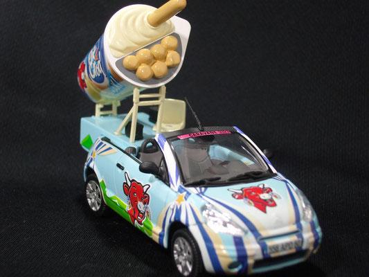 Citroën C3 Pluriel Pic&Croq La Vache qui rit  Caravane Tour de France 2004