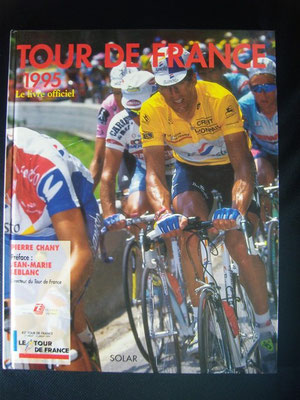 Livre officiel Tour de France 1995