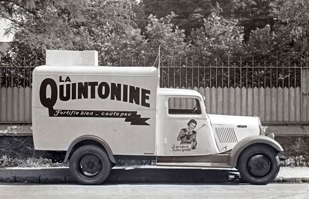 Camionnette Latil Quintonine - Tour de France 1935