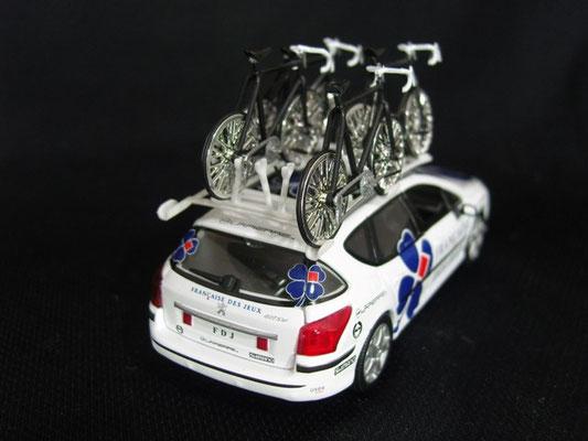 Peugeot 407 SW Equipe FRANCAISE DES JEUX            Tour de France 2008