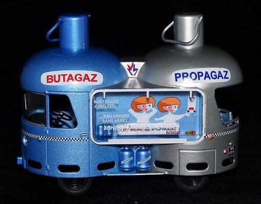 RENAULT 1400 KG  BUTAGAZ - PROPAGAZ  Bi-Bouteille     Caravane Tour de France 1960