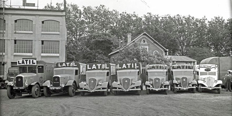 Latil  flotte - Tour de France 1936