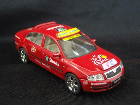 Skoda de course Directeur de course                              Tour de France 2003