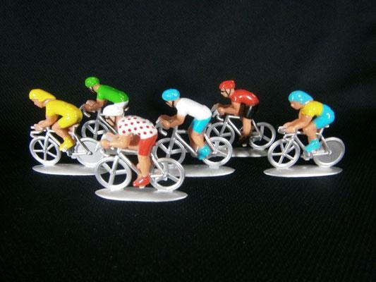 Cycliste NOREV  vue de côté